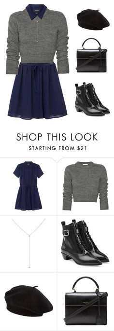 """""""3/3 - 1"""" by megabxbe ❤ liked on Polyvore featuring Monki, Carven, Sara Weinstock, Marc by Marc Jacobs, Linea, Yves Saint Laurent, women's clothing, women, female and woman"""