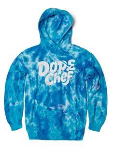Dope Chef - Blue Magic Tie Die Hoody Splash Screen, Blue Magic, My Christmas List, Disney Land, Hoody, Men's Fashion, Fashion Design, Oakley, Rooster