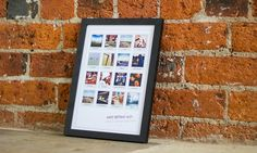 Printed on canvas material or glossy paper, this collage print features personalised colours, captions and fonts Canvas Prints, Framed Prints, Mdf Wood, Canvas Material, Captions, A4, Fonts, Collage, Colours