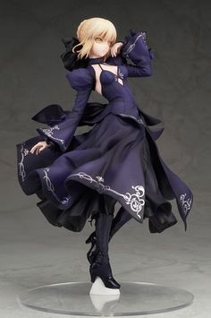picture of Fate/Grand Order Saber Arturia Pendragon (Alter) Dress Ver. 1/7 Scale Figure 1