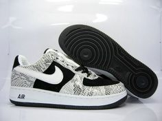 timeless design 721ce fd9d6 £85.00 Nike Air Force 1 Low Leather Men  s Shoes Black And White