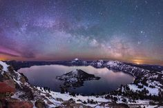 The Lights II  On Saint Patty's Day in 2015 I made the trek up to Crater Lake National Park to try and shoot the northern lights. I wound up making a 7 mile round trip hike/snowshoe to the Watchman fire lookout to capture this shot of the Milky Way rising and the northern lights around 4am.  Capturing the light in the darkness Matt  Camera: Canon EOS rebel SL1 Shutter Speed: 20sec ISO/Film: 6400  Image credit: http://ift.tt/2amBo2P Visit http://ift.tt/1qPHad3 and read how to see the…