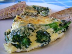 The Breakfast Challenge – Cheesy Broccoli Omelette