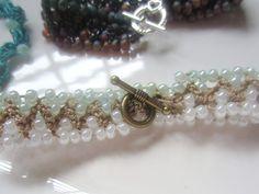 I'm Lovin' Up Beads In Bracelets! | G-Ma Ellen's Hands – Adventures in Crochet and Knit