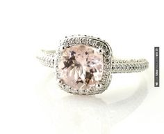 Obsessed with Morganite Engagement Rings