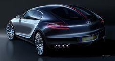 Bugatti Galibier Concept.