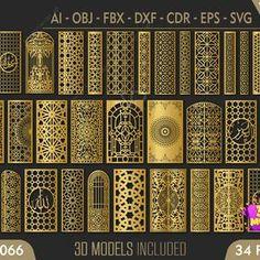 Islamic Art Pattern, Arabic Pattern, Pattern Art, Digital Form, Digital Image, Vector File, Vector Graphics, Images Wallpaper, Black Wallpaper