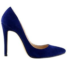 Loslandifen Womens Closed Toe High Heels Pointed Slender Stiletto Pumps)  #amazon #pumps #navyblue $33.99