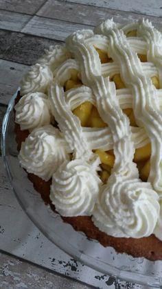 Fruitige ananastaart.