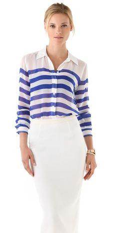 Equipment blouse, $238.