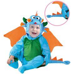 Disfraz de Dragoncito Bebé #disfraces #carnaval #novedades2015