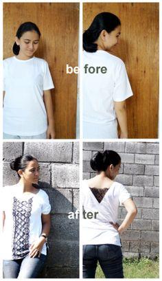 DIY T-Shirt Refashion