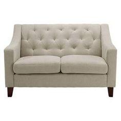 Felton Tufted Loveseat - Gray - Threshold™ : Target   www.bocadolobo.com/ #sofasideas #livingroomfurniture