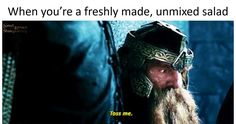 Don't tell the elf! Really Funny Memes, Hilarious Stuff, It's Funny, Make Em Laugh, I Feel Good, The Elf, Lord Of The Rings, Lotr, The Hobbit