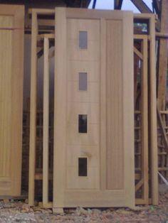 Model Pintu Daun Kayu Minimalis