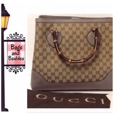 Price Firm Gucci Diana Gg Tote With Bamboo Handles