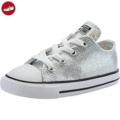 Converse Chuck Taylor All Star Infant Silver Synthetic 18 EU (*Partner-Link)