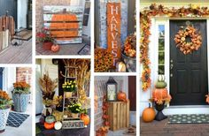 25 Adorable Fall Front Door Decor Ideas to Make a Fantastic First Impression