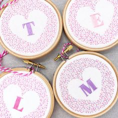 Cute Embroidery, Modern Embroidery, Embroidery Thread, Cute Alphabet, Different Stitches, Seed Stitch, Snowflake Designs, Embroidery For Beginners, Satin Stitch