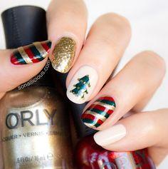 xmas inspired nails
