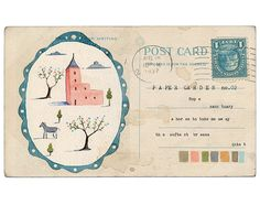 Paper Garden no.2  Art Print by LilyMoon on Etsy, $18.00