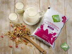 Ten una siempre en tu trabajo y para medias tardes agrégale granola o cereal ¡Deliciosa! #TaeqTeCuida