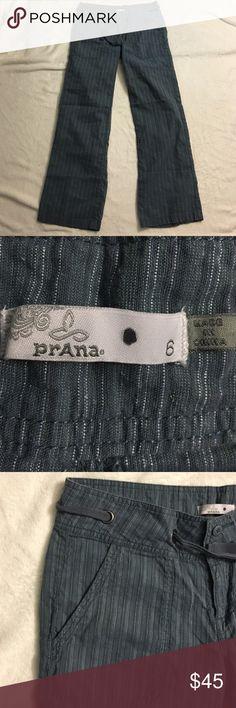Prana organic cotton pants Prana organic cotton pants size 6. Only worn a few times. EUC. Prana Pants