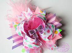 """MommyCraftsAlot: How to create an """"MCAL"""" style hair bow :)"""