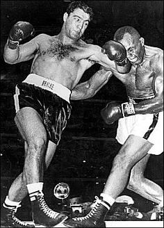 Rocky Marciano only heavyweight champ to go undefeated (Brockton Massachusetts)