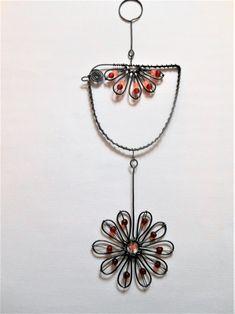Ptáček s květinkou / Zboží prodejce mat. Belly Button Rings, Jewelry, Little Birds, Wire, Jewlery, Bijoux, Schmuck, Jewerly, Belly Rings