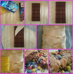 Las Recetas & Trucos de Anna: Hojaldre relleno de Chocolate ¡Muy Fácil! ¡En 2 Mi...