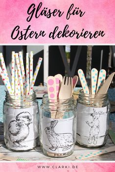 Easter decorations are made from old glasses Diy Ostern, Earthy, Vintage, Home Decor, Material, Decorations, Design, Glasses, Easter Crafts