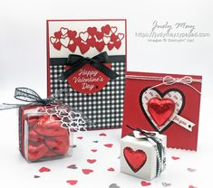 Stampin' Up! Meant to Be Valentine's Day projects - Judy May, Just Judy Designs, Melbourne Valentine Love Cards, Valentine Crafts, Some Cards, Embossed Cards, Diy Cards, Anniversary Cards, Stampin Up Cards, Cardmaking, Stamping