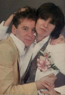 Another marriage that devastated me......Chrissie Hynde (The Pretenders) and Jim Kerr (Simple Minds)