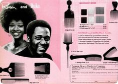 Combs/Picks for african american hair