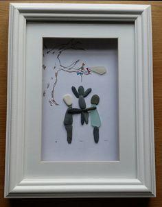 Pebble Art: Kite