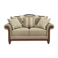 Get Your Berwyn View   Quartz   Loveseat At Armourdale Furniture, Kansas  City KS Furniture Store.