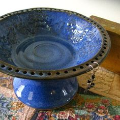Ceramic Jewelry bowl  http://www.etsy.com/shop/sheaclay?ref=seller_info