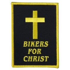 "$5.41 Hot Leathers Bikers For Christ Patch (3"" Width x 4"" Height) From Hot Leathers https://www.facebook.com/photo.php?fbid=132655820253643=a.115237391995486.1073741828.115224581996767=1"