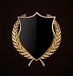 Luxury labels design set with premium quality symbols flat isolated vector illustration Vector N Logo Design, Design Retro, Vintage Design, Custom Logo Design, Custom Logos, Graphic Design, Best Background Images, Logo Background, Ribbon Logo