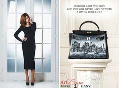 """Art Buro """"Make 1t Easy"""" ! Personalize your bag! #artburo #make_1t_easy_ #personalizeyourbag #hermes #fashionista #hermeslover #hermesaddict"""