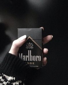marlboro, black, and cigarette image