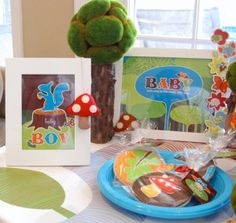 Bump Smitten: Real Baby Shower: Lil' Woodland Critters Theme
