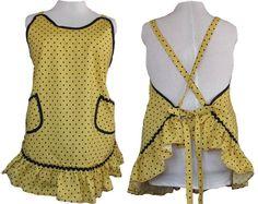 Hey, I found this really awesome Etsy listing at https://www.etsy.com/listing/205916014/plus-size-apron-flirty-ruffled-polka