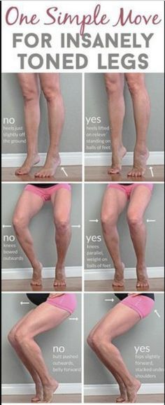 One simple move for insanely amazing toned legs – Toned Chick
