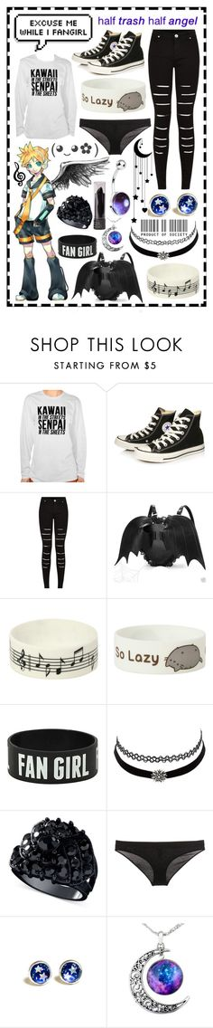 """""""*incoherent screeches*"""" by cupa1213 ❤ liked on Polyvore featuring Converse, Music Notes, Pusheen, Charlotte Russe, GUESS and Dolce&Gabbana"""