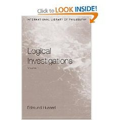 """Logical Investigations"""