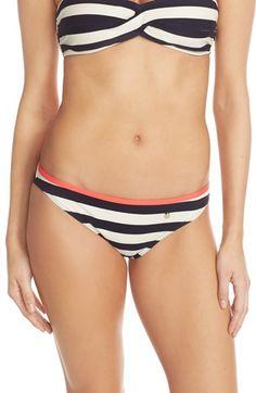 Ted Baker London 'Ciranek' Stripe Bikini Bottoms available at #Nordstrom