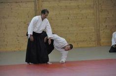 Aikido Lehrgang des Österreichischen Aikidoverbands im Budokan Wels, Mai 2015 - Kokyo Nage