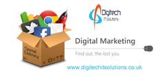 Digitech IT Solutions is leading #digital #marketing #UK based company providing quality #marketing services to ensure good search engine ranking for your #website with best affordable prices. For More Detail please visit At www.digitechitsolutions.co.uk